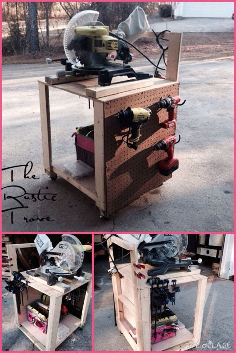 diy air compressor cart shanty 2 chic