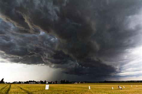thunderstorm cell stormy sky  photo  pixabay