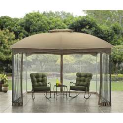 Patio Canopy Gazebo Tent Outdoor Gazebo Canopy 10x12 Patio Tent Garden Decor Cover Shade Shelter Curtain Ebay