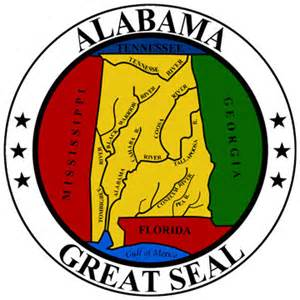 of alabama colors alabama state seal