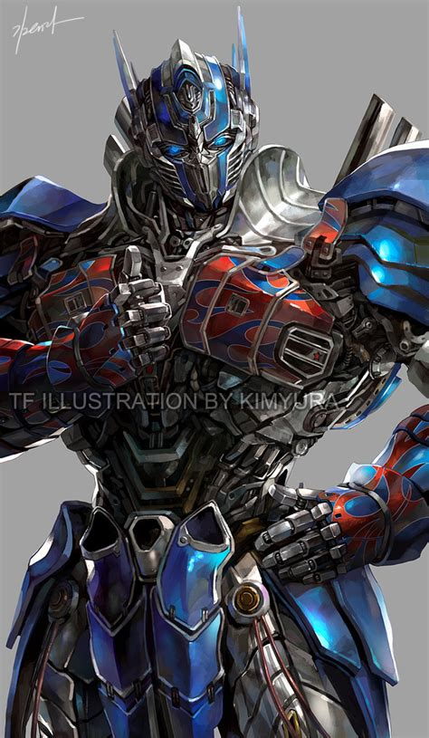 Tf4 Optimus Prime goddessmechanic yura deviantart