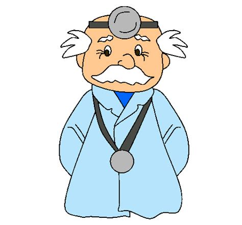 imagenes animadas de doctores dibujo de doctor veterano pintado por weri en dibujos net