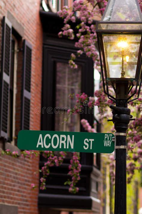 acorn street l acorn street stock photo image of architecture landmark