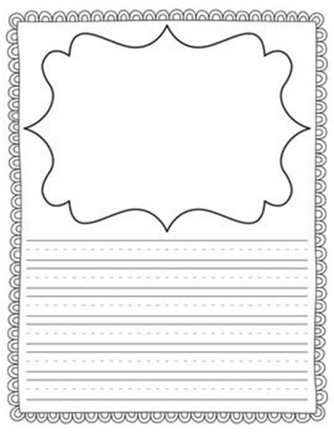 first grade writing paper editable 1000 ideas about name