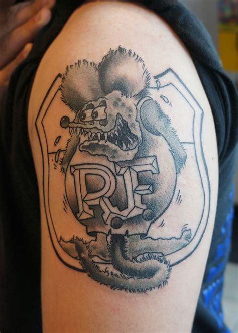 rat fink tattoo rat fink by jetblackninja on deviantart rat fink