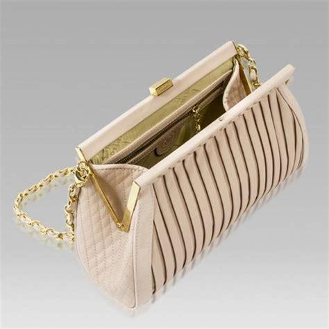 Plisse Wristlet by Valentino Orlandi Designer Plisse Textured Leather