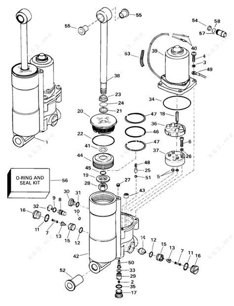 Johnson 2000 25 J25rl3ssb 3 Cyl Rope Start Tiller 20