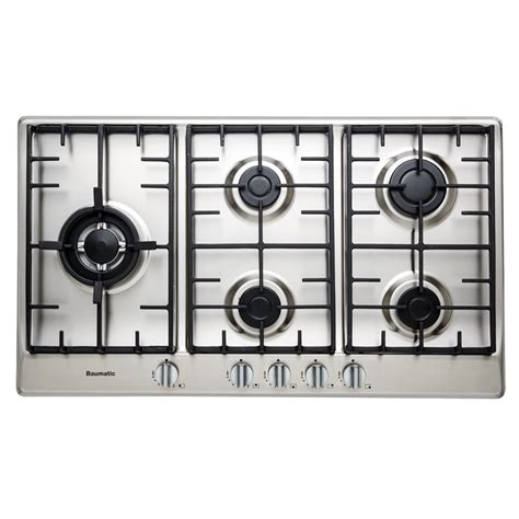 90cm Gas Cooktop studio solari 90cm gas cooktop bssg95 baumatic