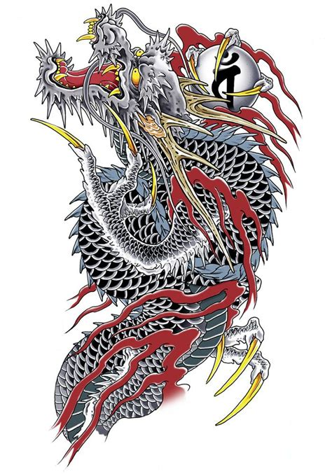 28 japanese dragon tattoos designs