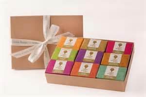 Handmade Luxury Soap - luxury handmade soap selection gift box by green