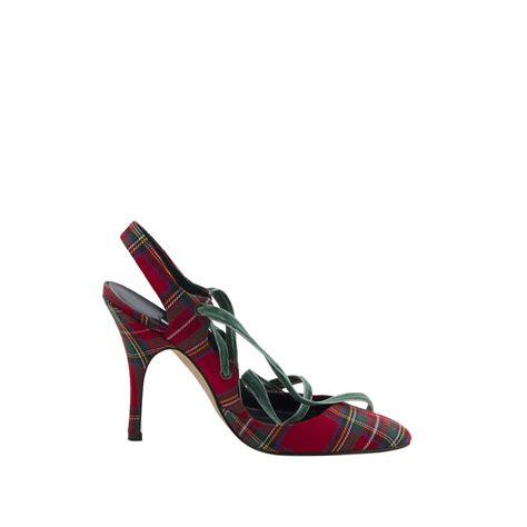 Manolo Blahnik 5 manolo blahnik zapatos tartan t 38 5 tienda de bolsos de