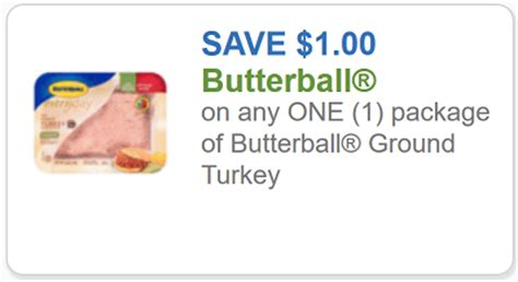 printable butterball turkey coupons butterball coupon 1 off any one package butterball