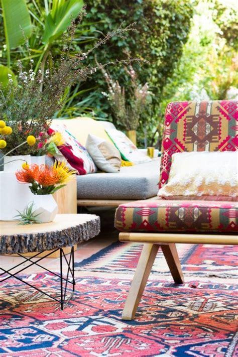 Beautiful Patio Designs 37 Beautiful Bohemian Patio Designs Digsdigs
