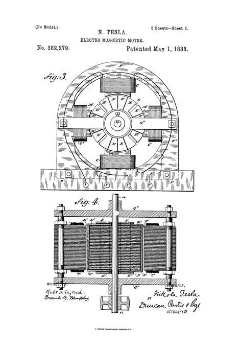 nikola tesla arthur j beckhard free download free iconic patent art from how a car works