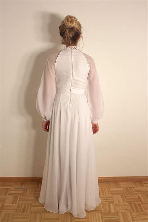 Brautkleider 90er Jahre by Vintage Brautkleid Langarm Quot Quot Oma Klara
