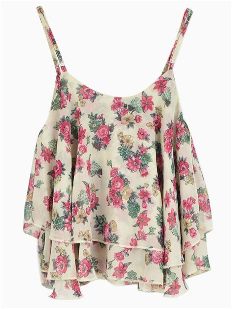 Flowery Top 1000 ideas about floral crop tops on crop