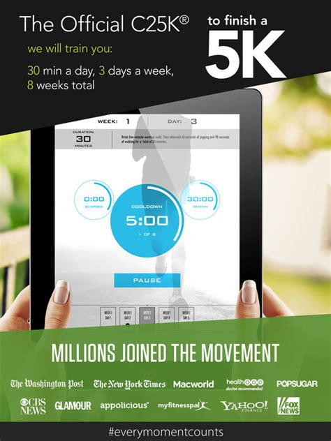 From The To 5k App by C25k 174 5k Trainer Free Potato To Running 5k On The