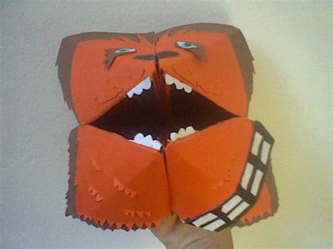 Origami Wookiee - the fortune wookiee origami yoda