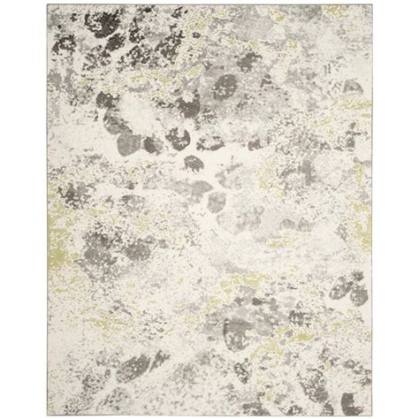 Safavieh Hudson Shag Ivory Gray 8 Ft X 10 Ft Area Rug 8 Foot Area Rugs