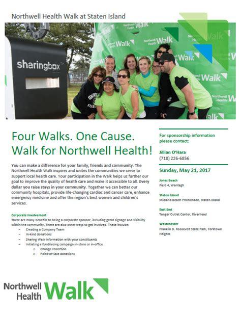 Northwell Health Detox Island by Northwell Health Walk Sunday May 21 8 30 Registration 10