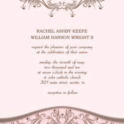 Microsoft Wedding Invitation Templates Free by Microsoft Wedding Invitation Templates