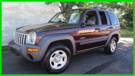 2004 Jeep Liberty Manual Buy Used 2004 Sport Used 3 7l V6 12v Manual 4x4 Suv In