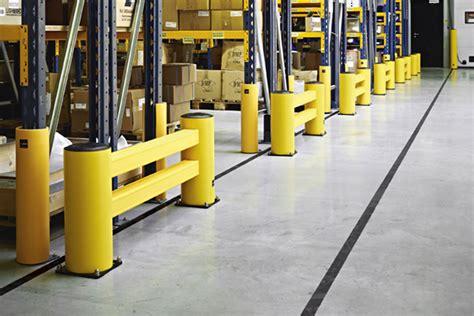 warehouse rack protectors rack protectors the optimum in rack protection in