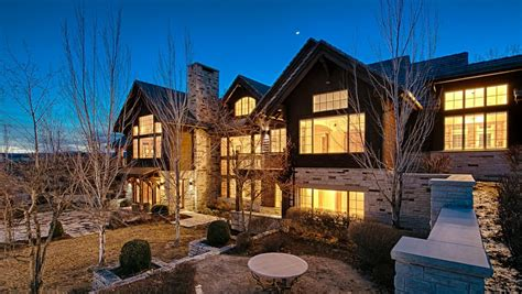 Homes For Sale With Floor Plans maison caribou a 12 000 square foot mansion in longmont