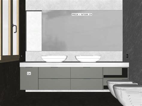 mobili bagno con due lavabi arredaclick il progetto di flavia mobile bagno
