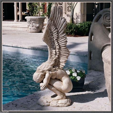 Outdoor Decor Statues by Statue Sculpture Beautiful Garden Decor