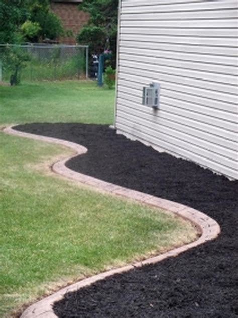 Landscape Edging Curved Curb It Edging Trimming Landscaping Solutions