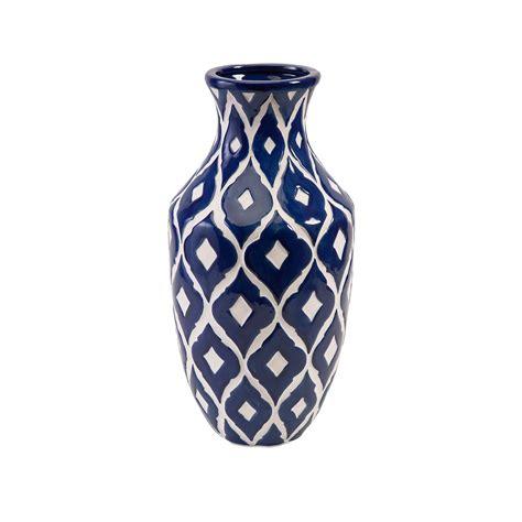 Blue And White Vases by Maine Blue And White Vase Imax Vases Vases Home Decor