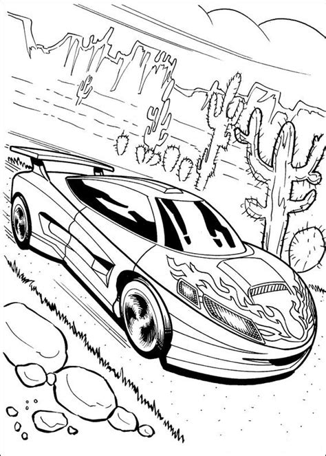 Hot Wheels Coloring Pages   Coloring Pages To Print