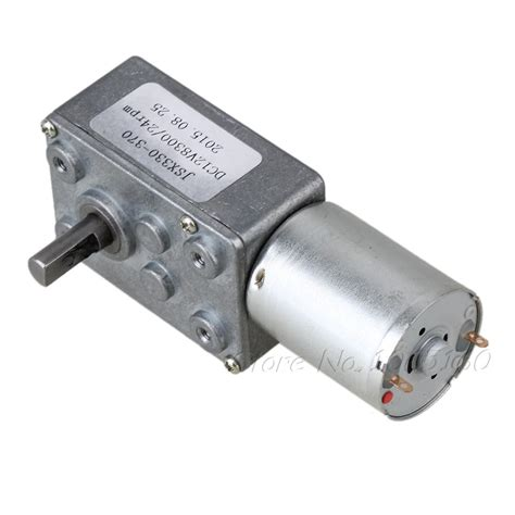 dc motor stall torque 24rpm low speed 1 875g dc 12v motor high torque turbo worm