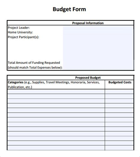 sle budget sheet 5 documents in pdf word