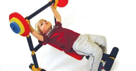 fun and fitness weight bench for kids redmon fun and fitness exercise equipment for kids