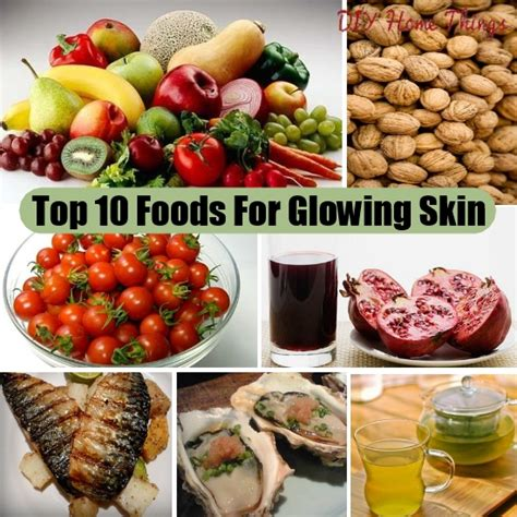 10 Foods Your Skin Will by Top 10 Foods For Glowing Skin Diy Home Things