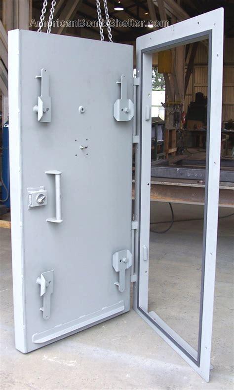 safe room doors blast doors ballsitic doors from american safe room