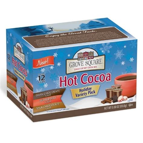 36 K Cups Grove Square HOT COCOA VARIETY PACK   eBay