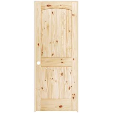 steves sons interior panel roundtop hardwood slab door