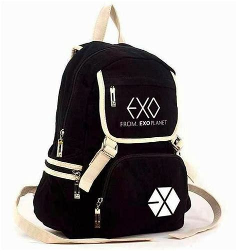 Tas Exo Backpack Exo Kpop sky kpop shop ready stock backpack exo versi a