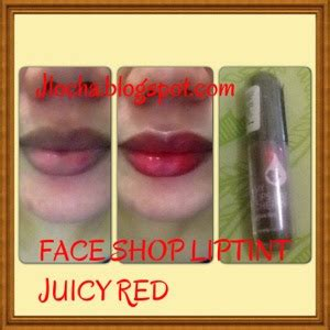 Harga The Shop Lip Tint My Eat Cherry risa jlocha review liptint odbo dan faceshop