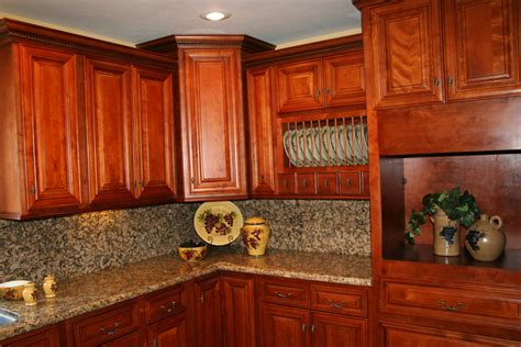 Kitchen And Bath Cabinets Vanities Home Decor Design Ideas Cherry Cabinet Kitchen Designs