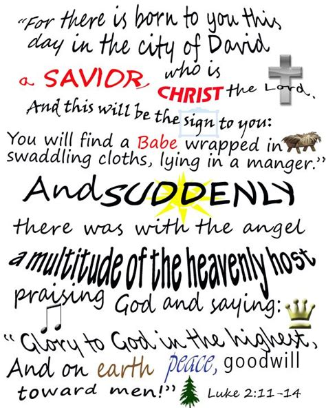 printable christmas verses christmas bible verses printable for luke 2 11 14