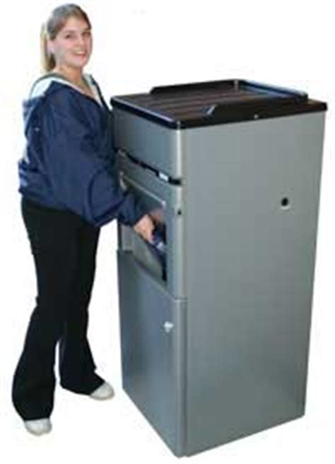 how does a commercial trash compactor work food court cafeteria and qsr front of the house compactor