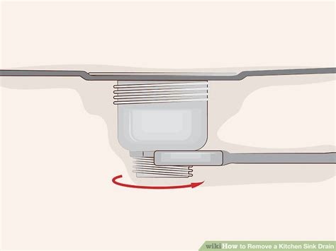 how to remove a kitchen sink drain 13 steps with pictures