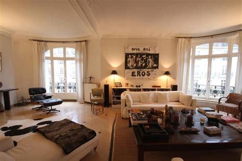 Exceptionnel Rideaux Decoration Interieure Salon #4: 038D02BC06743504-photo-appartement-design-ethnique-beige-et-noir-79.jpg