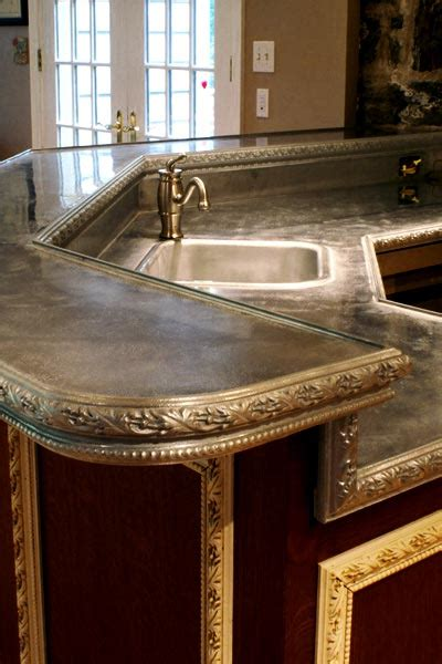 pewter bar top top trends in metal surface countertops countertop guides