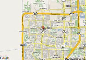 map of la quinta inn suites coral springs