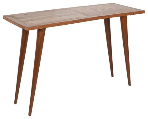 houzz console table joseph allen reclaimed wood console table